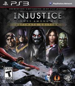 Jaquette de Injustice : Les Dieux Sont Parmi Nous Ultimate Edition PlayStation 3