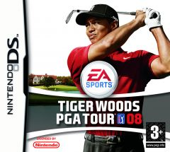 Jaquette de Tiger Woods PGA Tour 08 DS