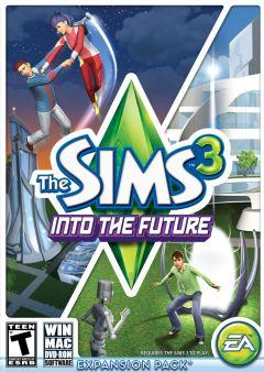 Jaquette de Les Sims 3 : En Route vers le Futur Mac