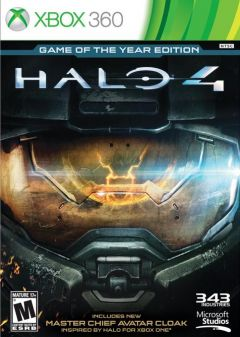 Jaquette de Halo 4 : Game Of The Year Edition Xbox 360