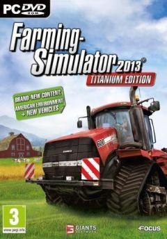 Jaquette de Farming Simulator 2013 Titanium PC