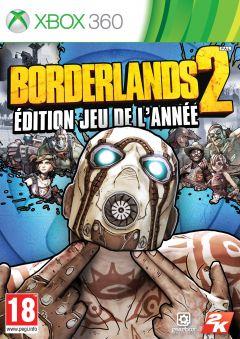 Jaquette de Borderlands 2 : Edition jeu de l'année Xbox 360