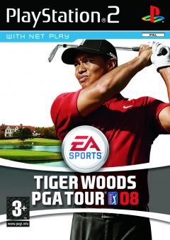 Jaquette de Tiger Woods PGA Tour 08 PlayStation 2