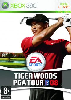 Jaquette de Tiger Woods PGA Tour 08 Xbox 360