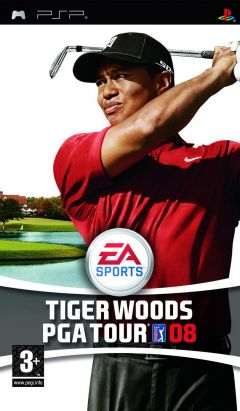 Jaquette de Tiger Woods PGA Tour 08 PSP