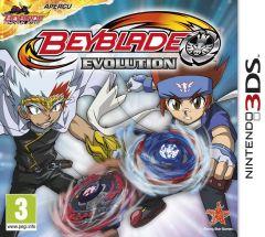 Jaquette de Beyblade : Evolution Nintendo 3DS