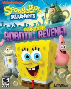 Jaquette de Bob L'éponge : La Vengeance Robotique de Plankton Wii U