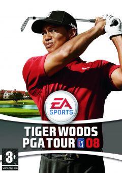 Jaquette de Tiger Woods PGA Tour 08 Wii