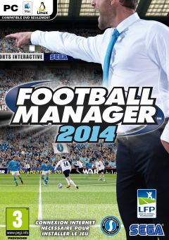 Jaquette de Football Manager 2014 Mac