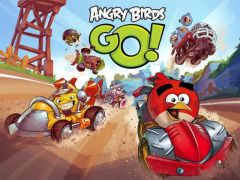 Jaquette de Angry Birds Go ! iPhone, iPod Touch