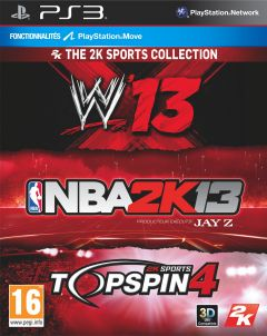 Jaquette de The 2K Sports Collection PlayStation 3