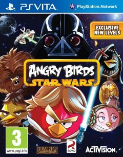 Jaquette de Angry Birds Star Wars PS Vita