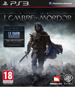 Jaquette de La Terre du Milieu : L'Ombre du Mordor PlayStation 3