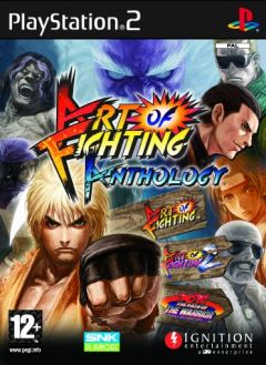 Jaquette de Art of Fighting Anthology PlayStation 2
