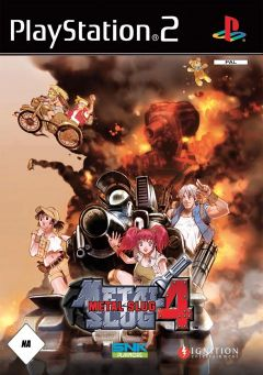 Jaquette de Metal Slug 4 PlayStation 2