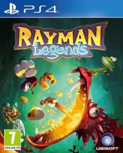 Jaquette de Rayman Legends PS4