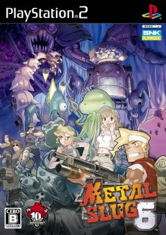 Jaquette de Metal Slug 6 PlayStation 2
