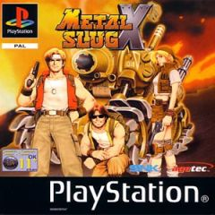 Jaquette de Metal Slug X PlayStation