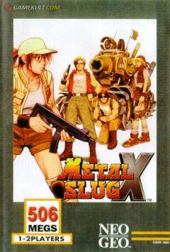 Jaquette de Metal Slug X NeoGeo