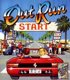 Jaquette de OutRun Amstrad CPC