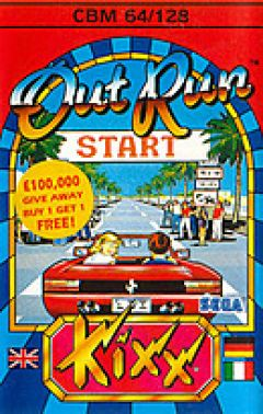 Jaquette de OutRun Commodore 64
