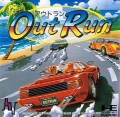 Jaquette de OutRun PC Engine