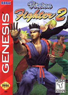Jaquette de Virtua Fighter 2 Megadrive