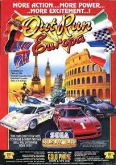 Jaquette de OutRun Europa Amstrad CPC