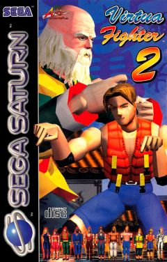 Jaquette de Virtua Fighter 2 Sega Saturn