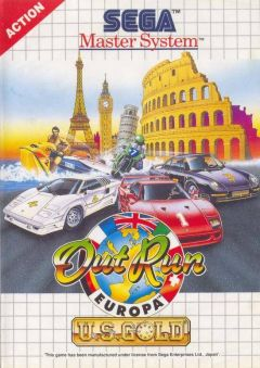 Jaquette de OutRun Europa Master System