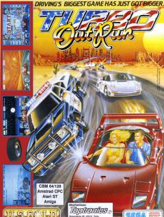 Jaquette de Turbo OutRun Atari ST