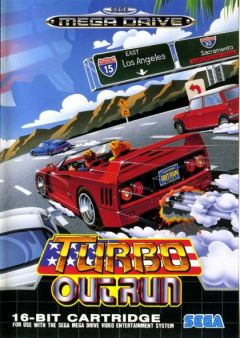 Jaquette de Turbo OutRun Megadrive