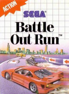 Jaquette de Battle OutRun Master System