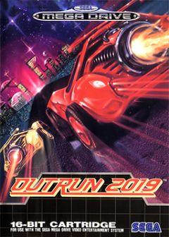Jaquette de OutRun 2019 Mega Drive