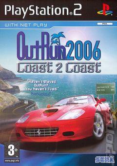 Jaquette de OutRun 2006 : Coast 2 Coast PlayStation 2
