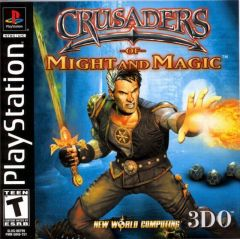 Jaquette de Crusaders of Might & Magic PlayStation