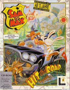 Jaquette de Sam & Max : Hit the Road PC