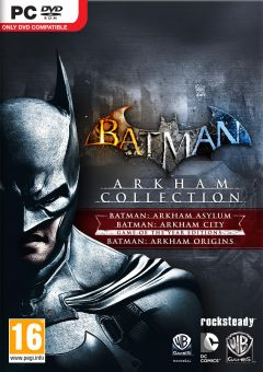 Jaquette de Batman : Arkham Collection PC