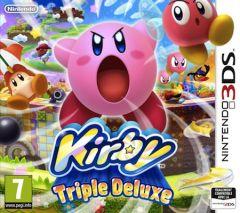 Jaquette de Kirby Triple Deluxe Nintendo 3DS