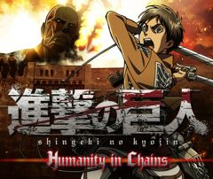 Jaquette de Attack on Titan : Humanity in Chains Nintendo 3DS