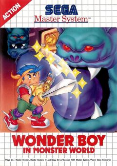 Jaquette de Wonder Boy in Monster World Master System