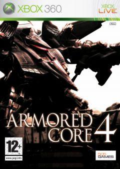 Jaquette de Armored Core 4 Xbox 360