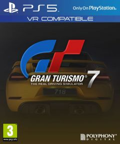Jaquette de Gran Turismo 7 PS5