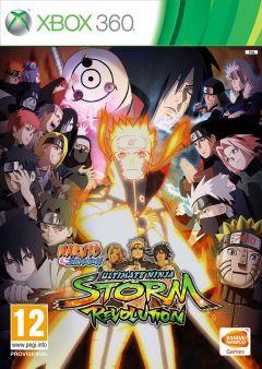 Jaquette de Naruto Shippuden : Ultimate Ninja Storm Revolution Xbox 360
