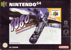 Jaquette de 1080° Snowboarding Nintendo 64