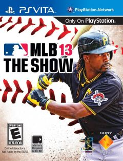 Jaquette de MLB 13 : The Show PS Vita