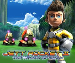 Jaquette de Jett Rocket II : The Wrath of Taikai Nintendo 3DS