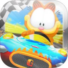 Jaquette de Garfield Kart iPhone, iPod Touch