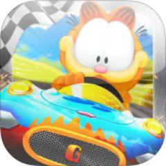 Jaquette de Garfield Kart iPad
