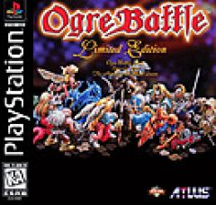 Jaquette de Ogre Battle : the March of the Black Queen PlayStation